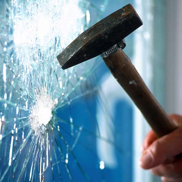 Burglary Damage to Windows
